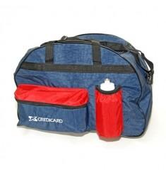 Bolsa de viagem 2 bolsos com bolsas e porta squeezes